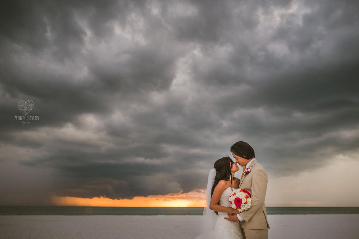 sara amp erichs hilton clearwater beach wedding tampa
